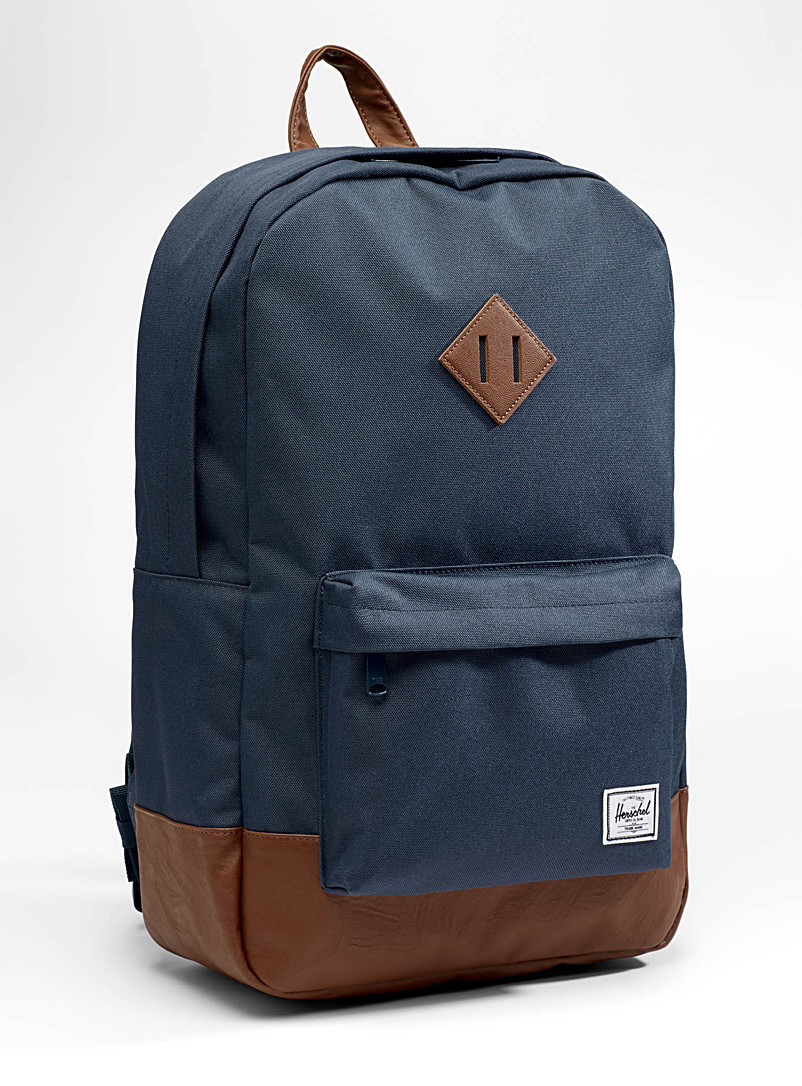 Herschel Marine Blue Heritage backpack for women