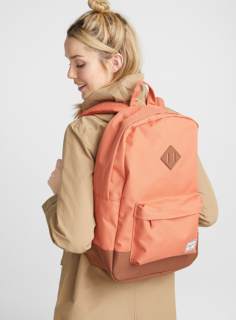 Herschel Black Heritage backpack for women