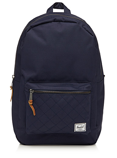 Topstitched pocket Settlement backpack