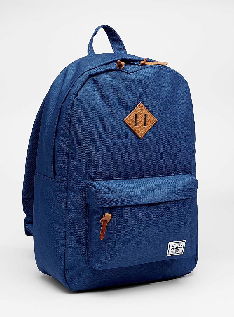 Herschel Blue Colourful Heritage backpack for men