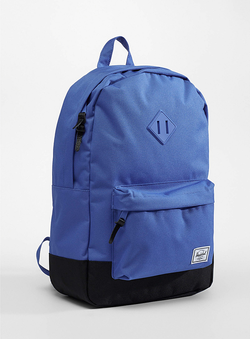 Herschel Sapphire Blue Colourful Heritage backpack for men