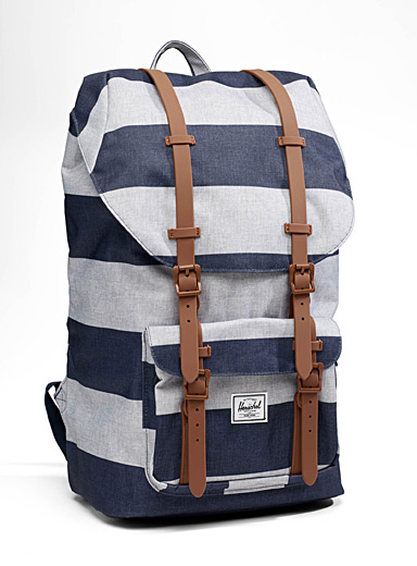 Little America accent pattern backpack