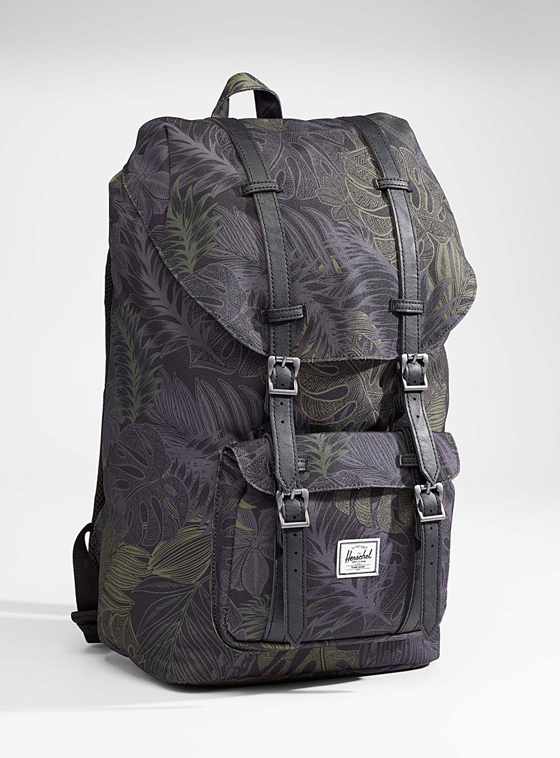 Little America camo foliage backpack