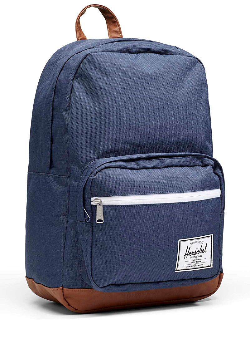 Herschel Marine Blue Pop Quiz backpack for men