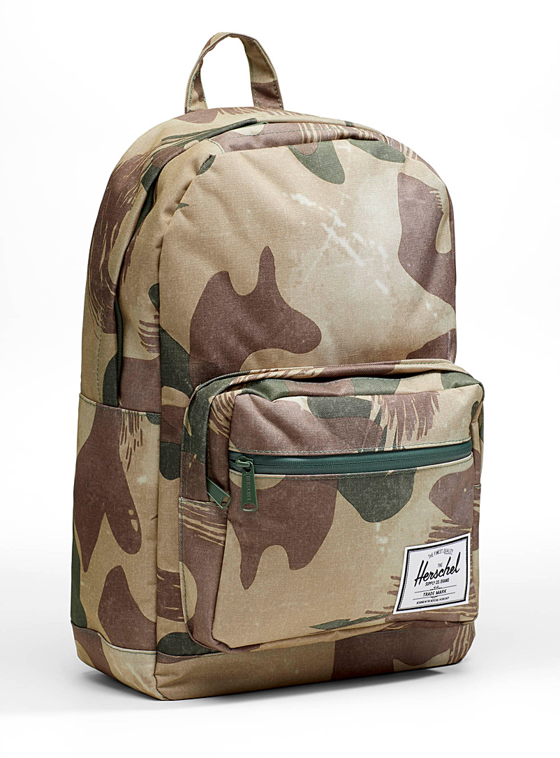 Pop Quiz camo backpack - Backpacks - Patterned Green