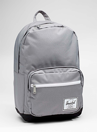Grey Pop Quiz backpack