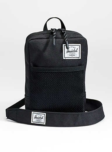 Herschel Black Sinclair shoulder bag for men