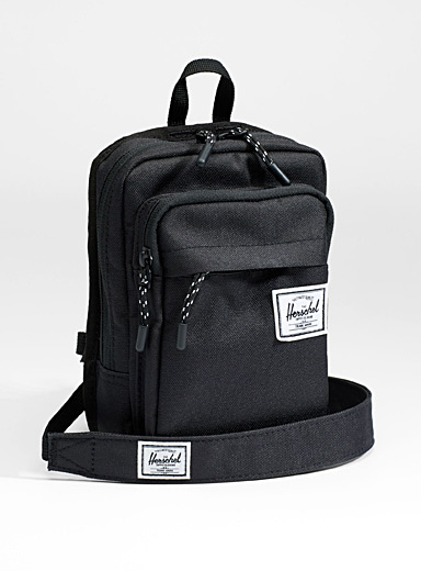 Sinclair two pockets shoulder bag