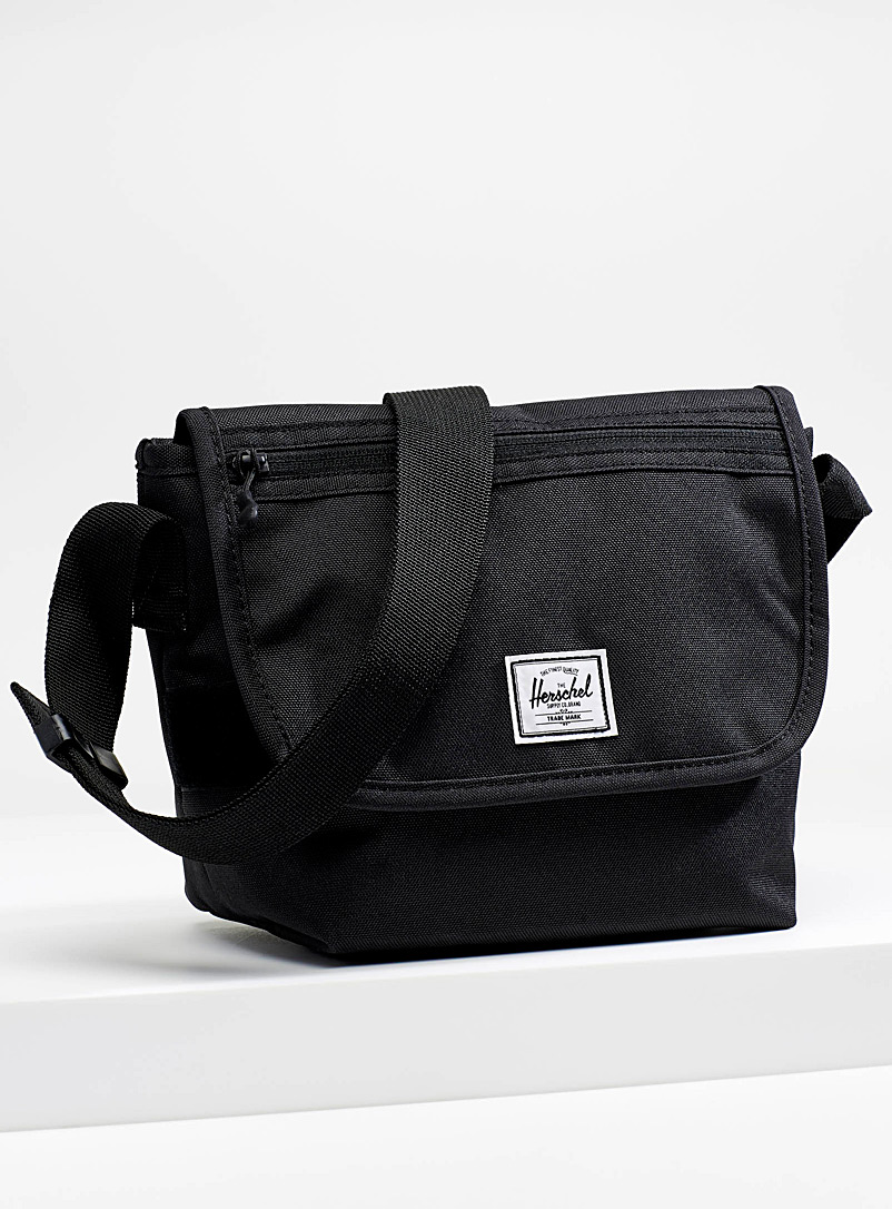 Herschel Black Grade shoulder bag for men