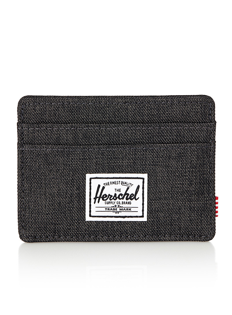 Charlie card holder - Wallets - Charcoal