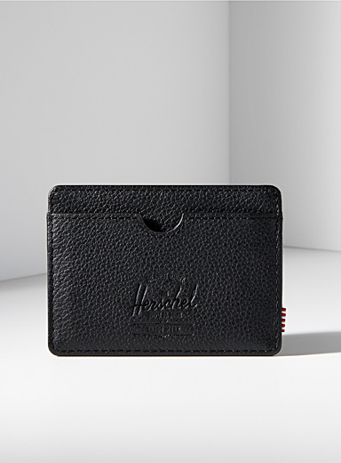 Charlie leather card holder