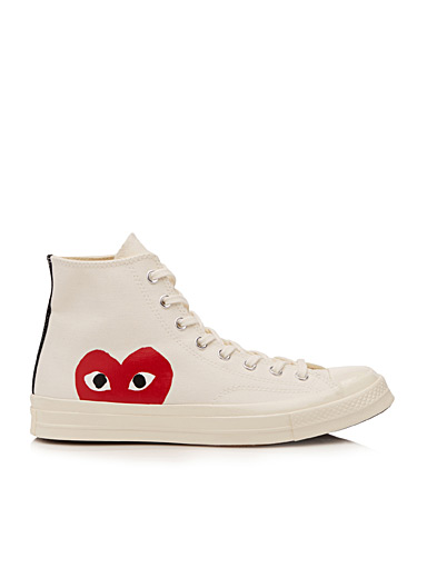 Le sneaker High-Top logotype  Homme
