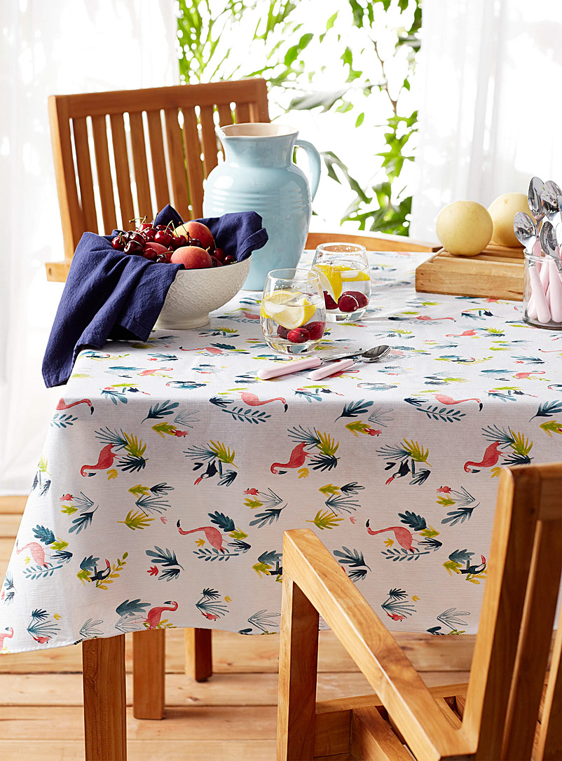 Danica Assorted Fiji Islands vinyl tablecloth