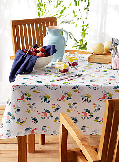 Fiji Islands vinyl tablecloth
