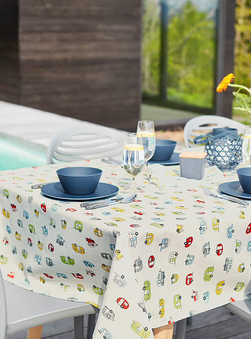 Caravan parade tablecloth - Printed - Assorted