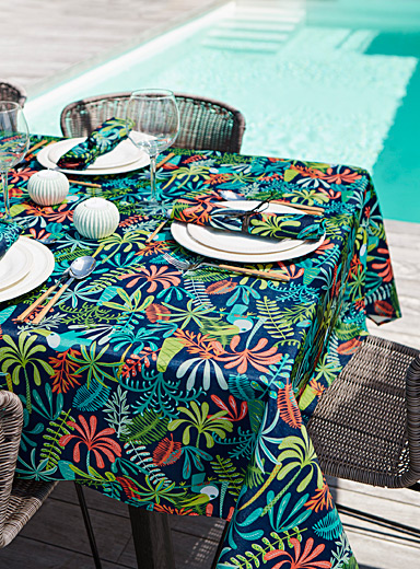 Simons Maison Assorted Parrot island tablecloth