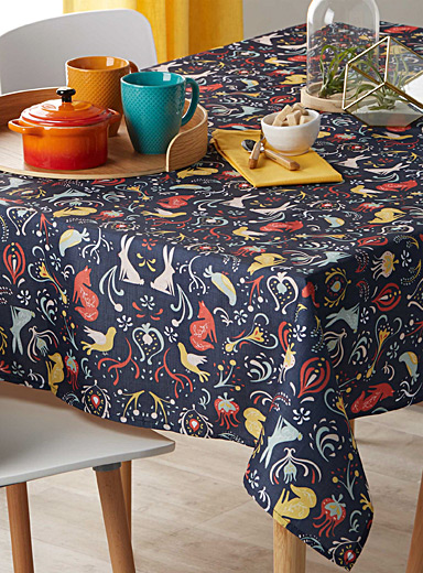 Otomi patterns tablecloth