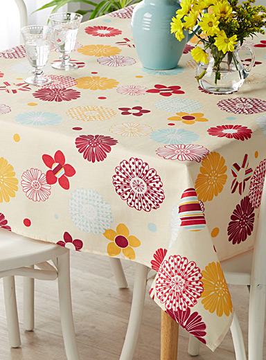Grand floral tablecloth <br> <br>All sizes