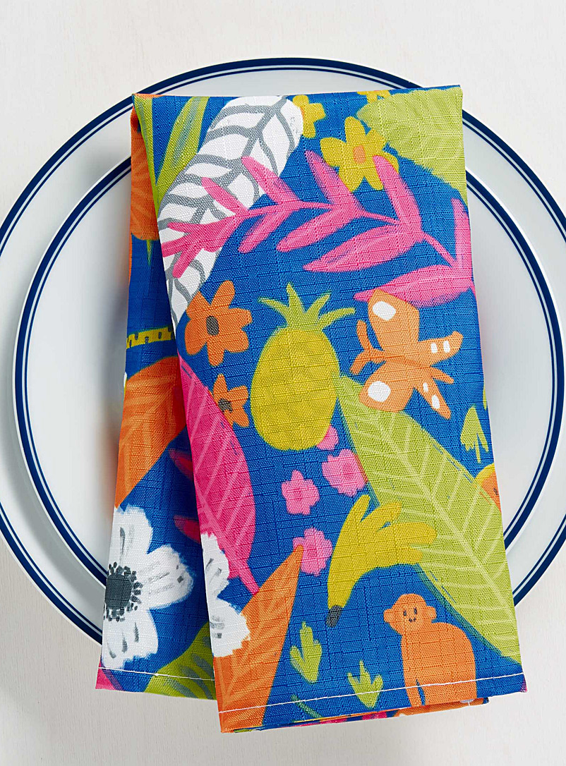 Tropical paradise napkin - Matching - Assorted