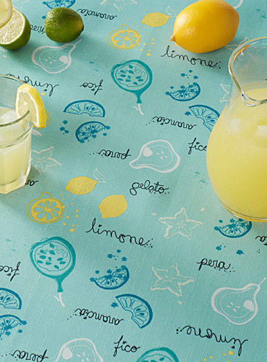 Flavours of Italy tablecloth <br> <br>All sizes