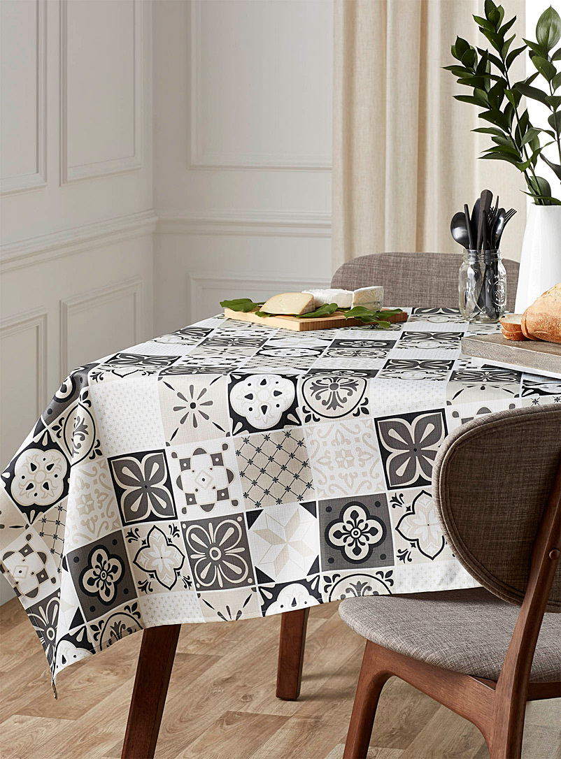 Modern mosaic tablecloth  All sizes - Printed