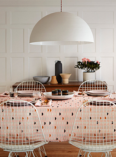 Danica x Simons Maison Assorted Terrazzo chip tablecloth