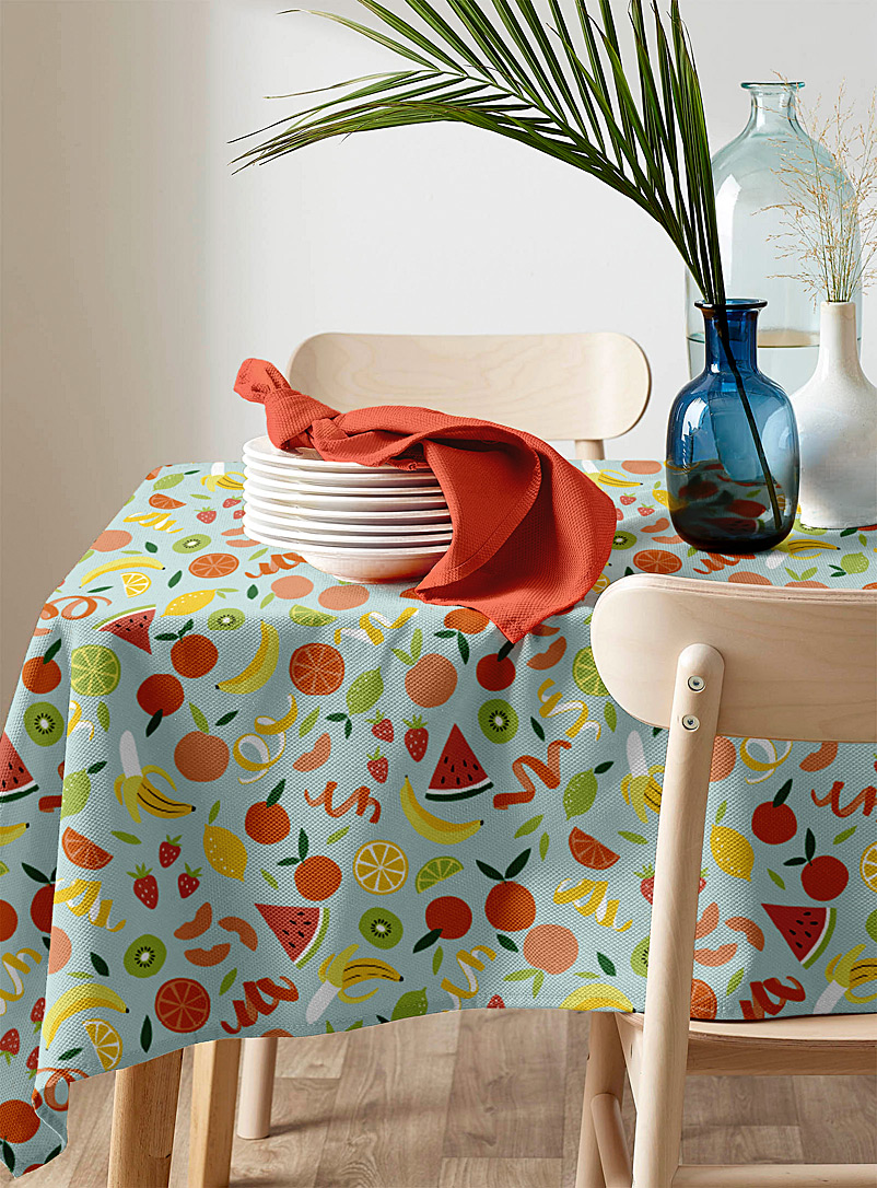 Simons Maison Assorted Festive punch tablecloth