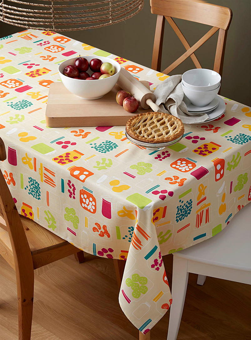 Simons Maison Assorted Retro preserves tablecloth    All sizes
