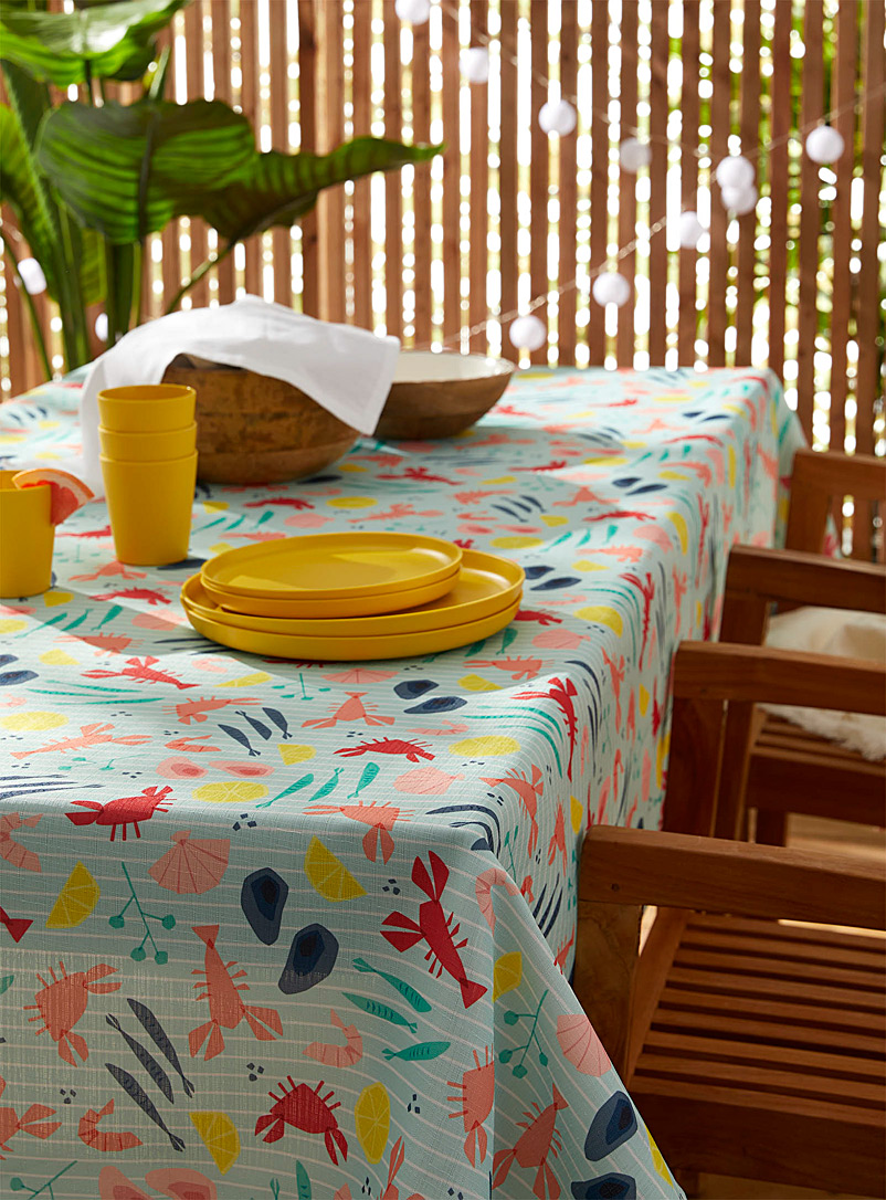 Simons Maison Assorted Beach vibes tablecloth