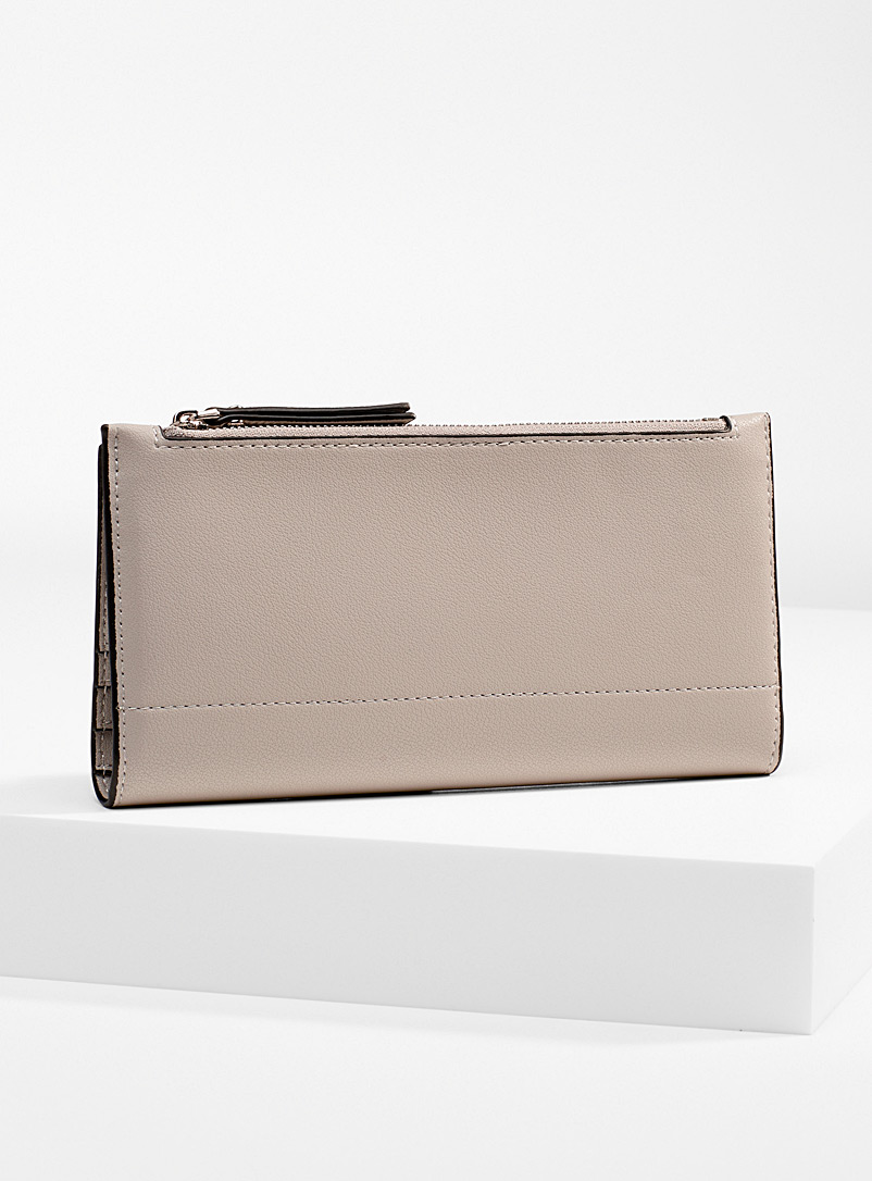 Simons Silver Recycled fold wallet for women