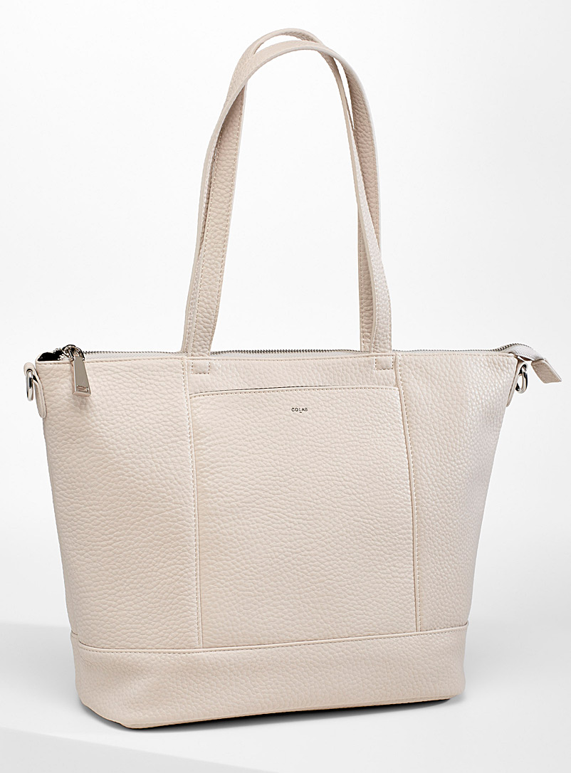 COLAB Ivory White Everyone tote for women