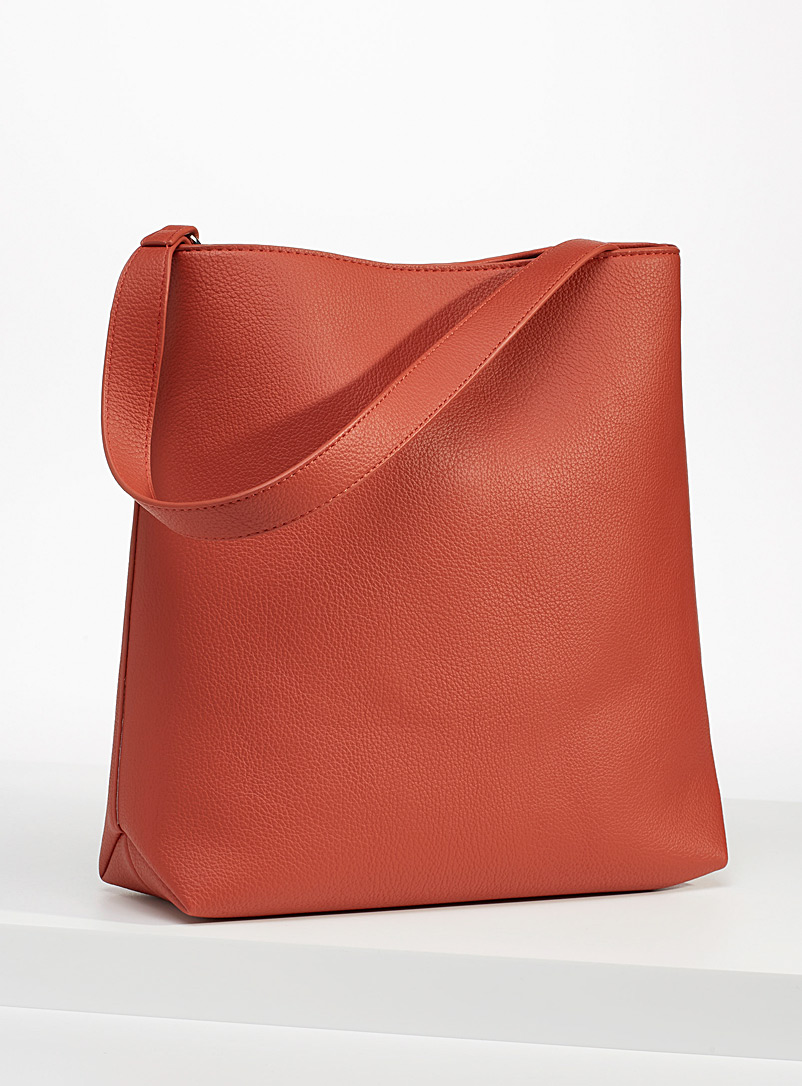 Simons Copper Large recycled tote for women