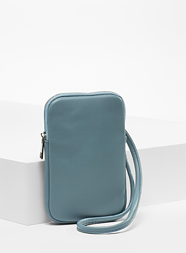 Recycled polyester phone pouch