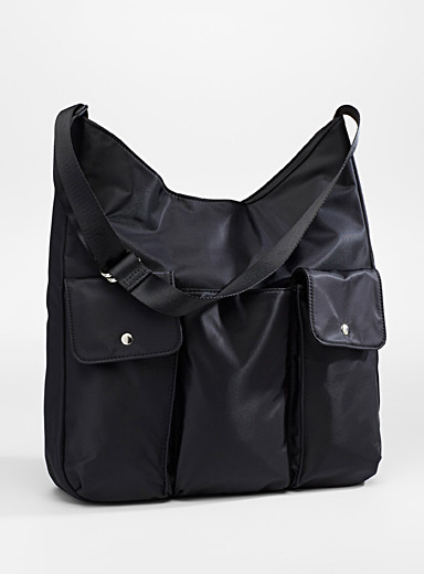Nylon pocket tote