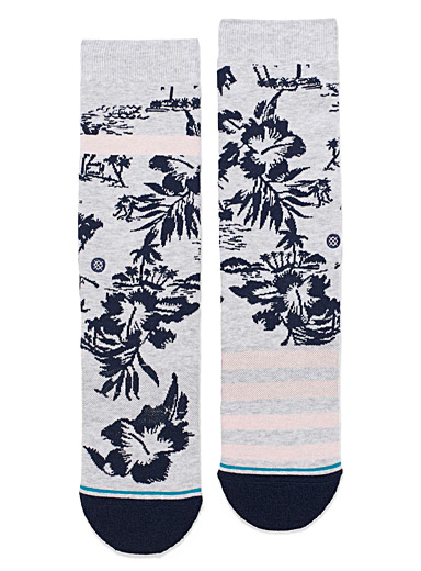 Flowers Harbor socks
