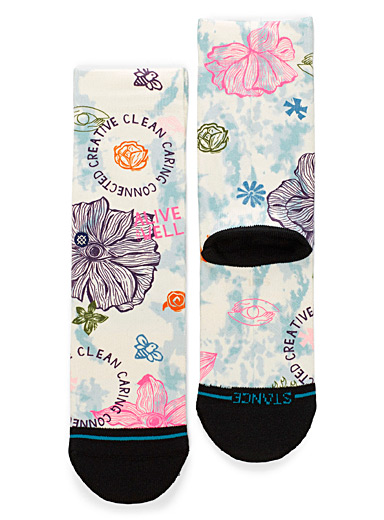 Stance Sand Alive and Well graphic socks for women