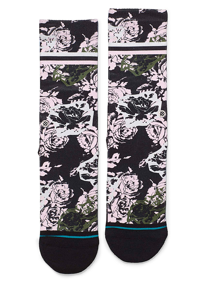 Stance Assorted black  La vie en rose socks for women