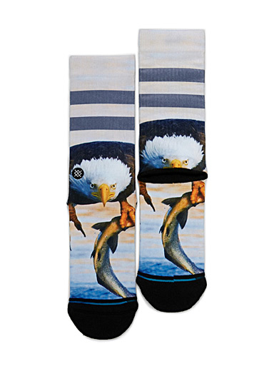 Fisherman eagle socks