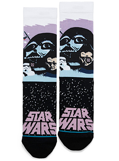 Stance: Le bas Darth Vader Lilas pour homme
