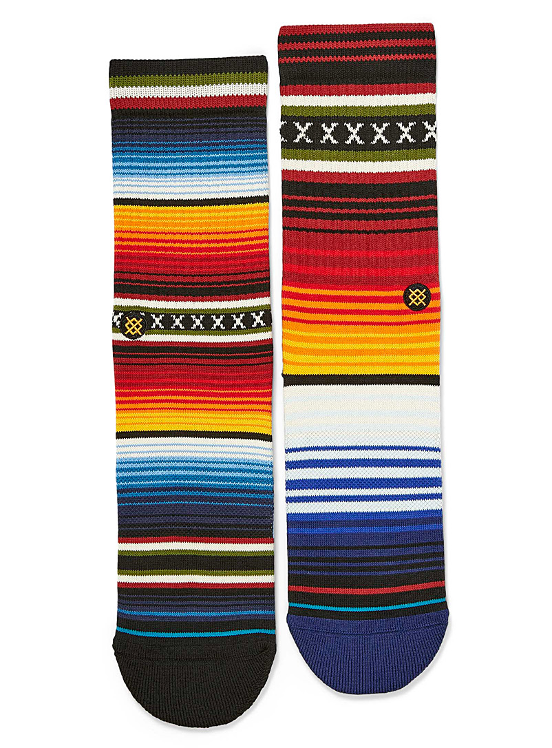 Stance Assorted Vibrant stripe socks for men