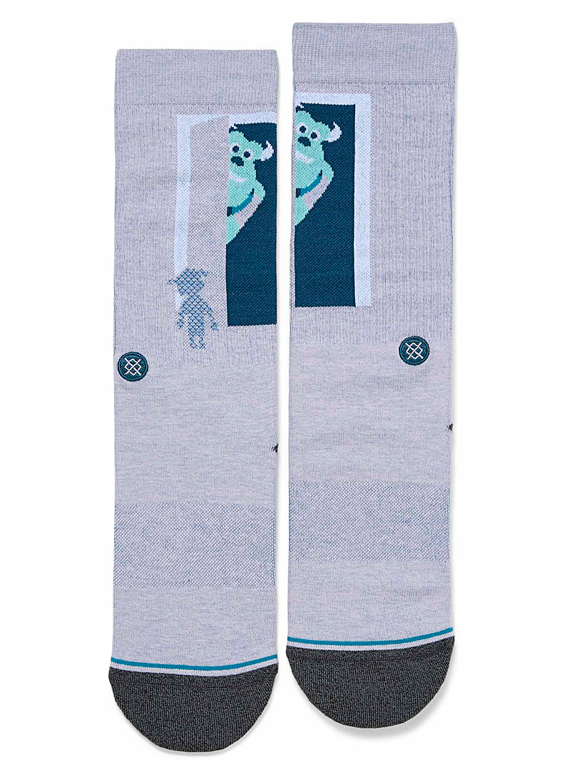 Stance Lilacs Monsters, Inc. socks for men