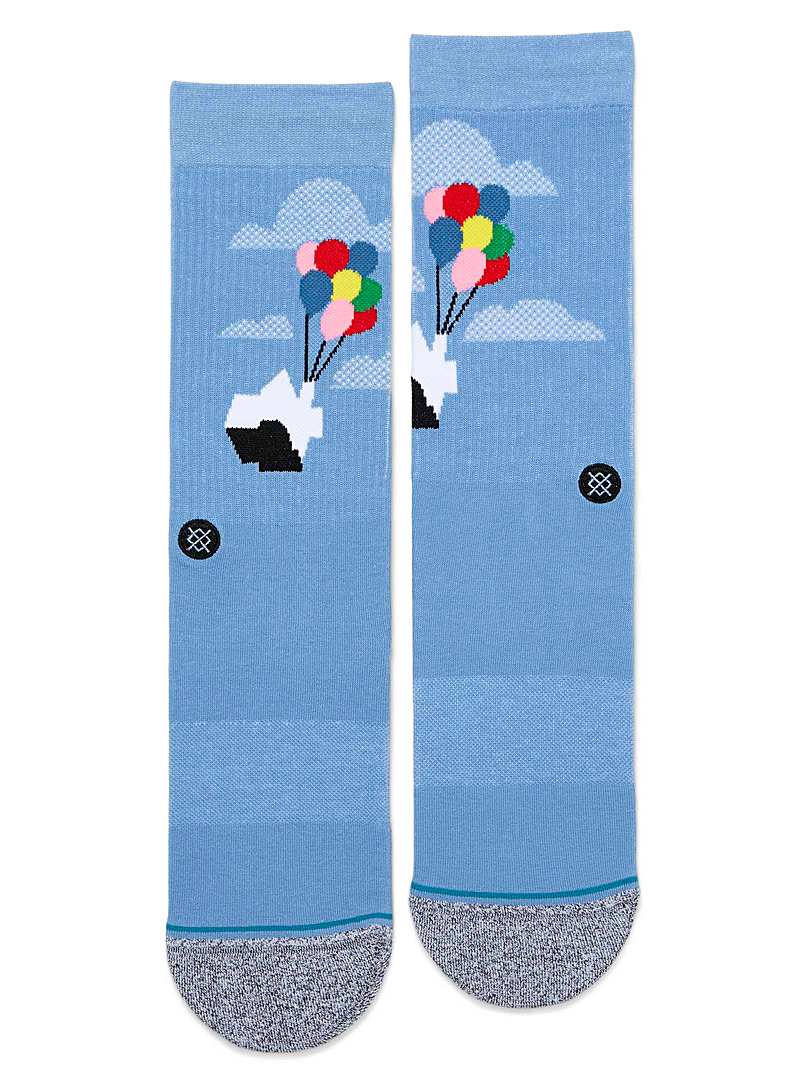 Stance Baby Blue Up socks for men