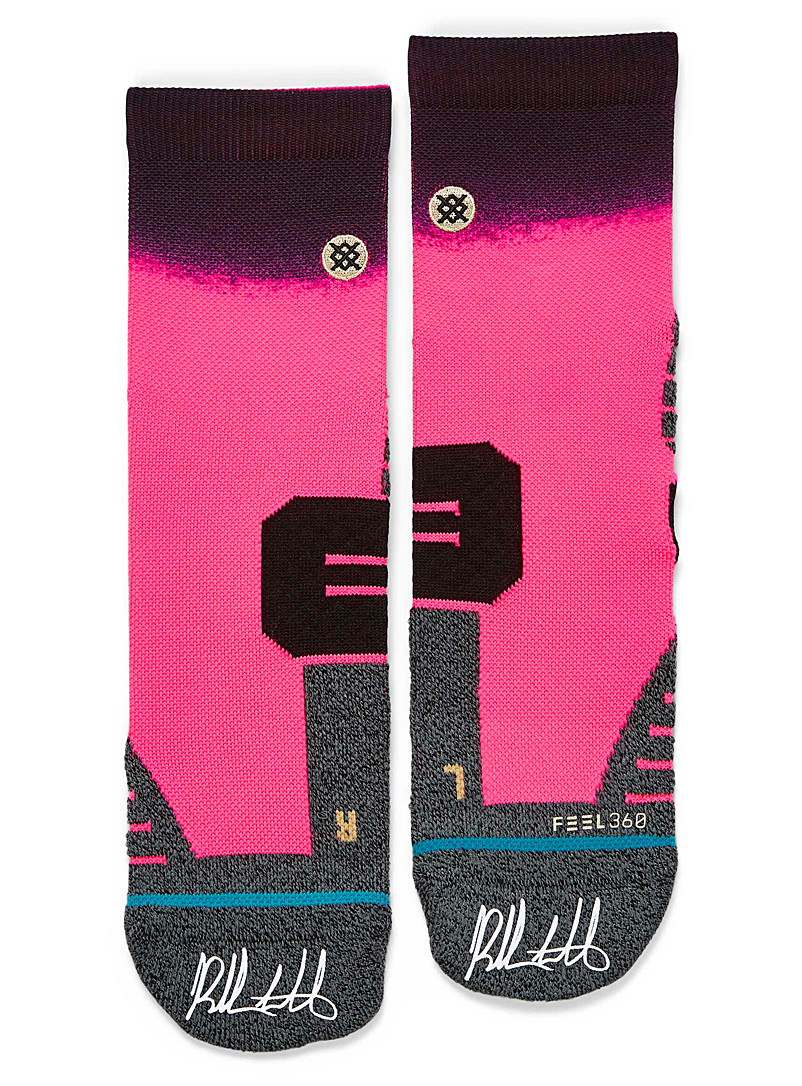 Stance Pink Bubba Watson pink golf socks for men