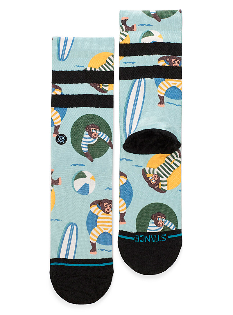 Trendy monkey socks