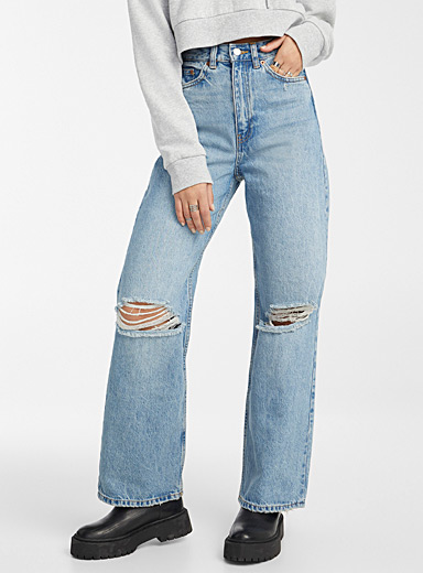 Echo loose high-rise jean