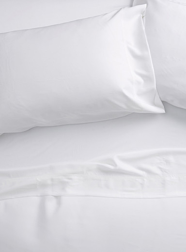 Bamboo rayon 300-thread-count sheet set Fits mattresses up to 16 in.