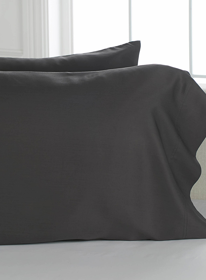 Bamboo rayon pillowcases, 300 thread count  Set of 2