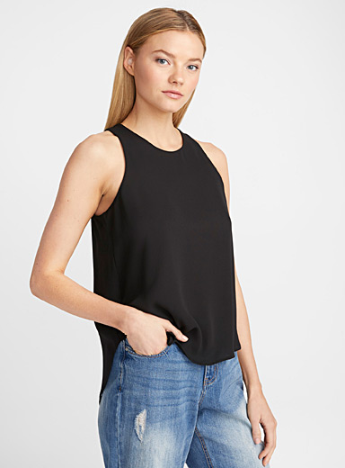 High-low fluid camisole