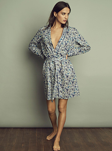 Liberty floral robe