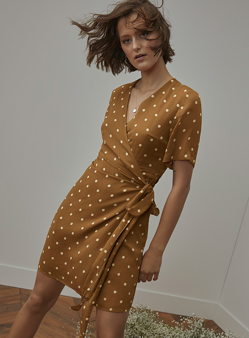 patterned-chiffon-wrap-dress